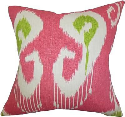 Sepia The Pillow Collection P18-WAV-110250-SPICEISLANDS-SEPIA-C100 Efrat Ikat Pillow