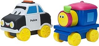 Bob The Train Push-N-Zoom Pals 2 Pack, Bob the Train & Police Car