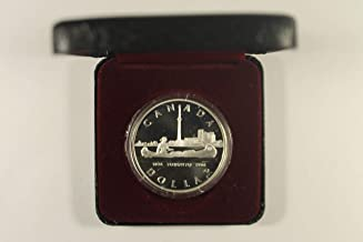 1984 Various Mint Marks 150th Anniversary Of Toronto $1 Proof Royal Canadian Mint