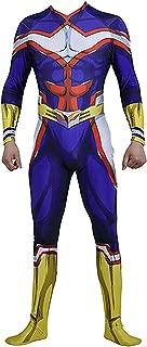 BNHA Boku No Hero My Hero Academia All Might Jumpsuit Cosplay Costume Halloween Bodysuit