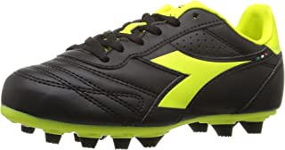 Diadora Soccer Kids' Brasil R MD PU Jr Sneaker