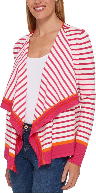 Tommy Hilfiger Womens Flyaway Cardigan Sweater