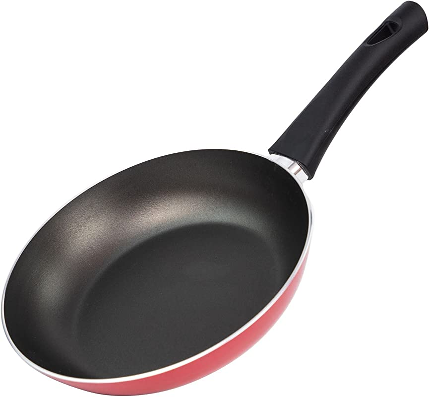 Illa Alegria Aluminium Non Stick Frying Pan 20cm 8 Inch Red Gas Electric Skillet Pan