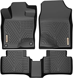 YITAMOTOR Floor Mats for Honda Civic, Custom Fit Floor Liners for 2016-2019 Honda Civic Sedan/Hatchback or Type R, 1st & 2nd Row All Weather Protection