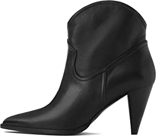 Uterque Women Cowboy high Heel Ankle Boots 5080/051