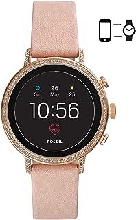 Fossil Gen 4 Smartwatch Venture HR Blush Leather - FTW6015