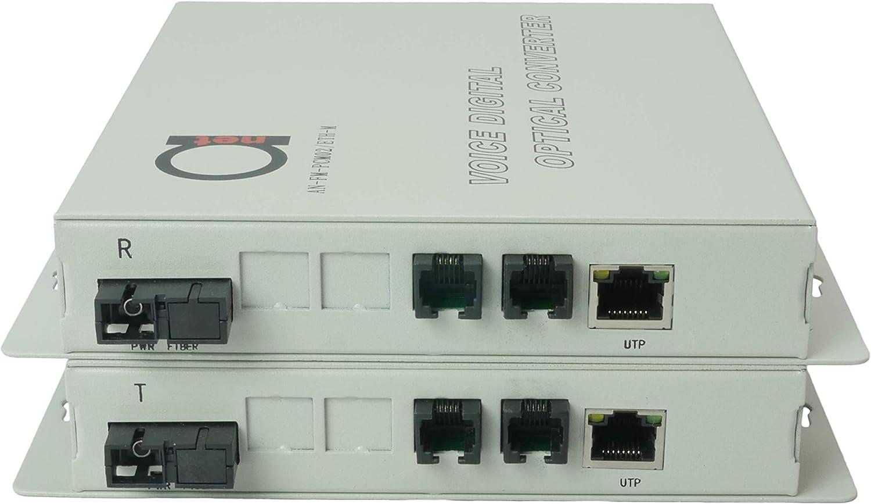 Ranking integrated 1st place 2 x POTS RJ11 Telephone and Over Popular standard Converter Fiber - Port Ethernet