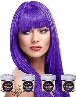 La Riche Directions Color de cabello semipermanente violeta (todos los colores disponibles) [4 x 88ml] [Morado]