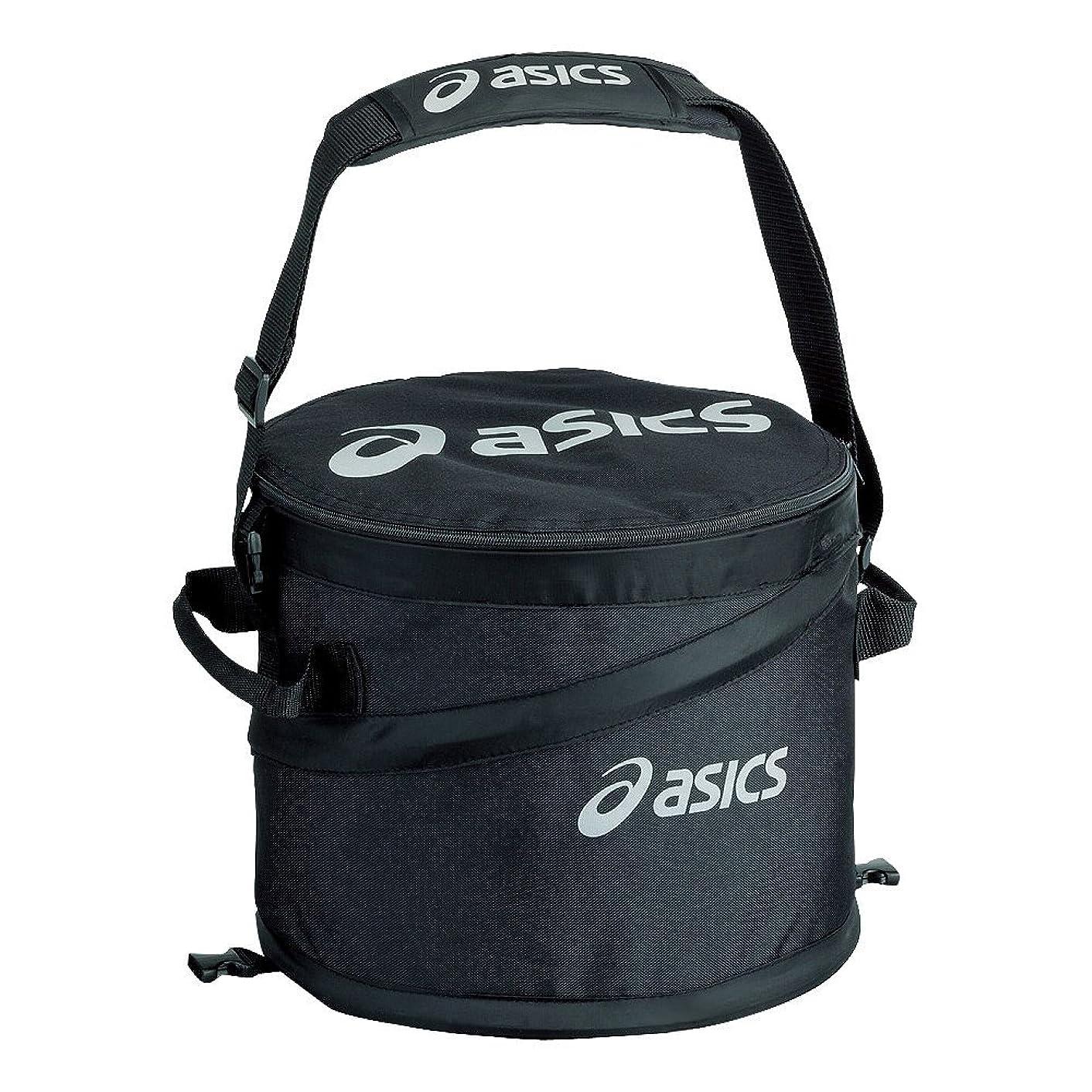 興味作り油アシックス(asics) 野球 ボールケース 収納 BEQ340 Fサイズ ブラック BEQ340 ブラック F
