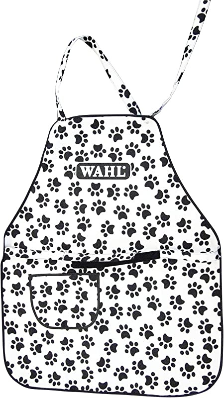 Wahl Professional Animal Paw Print Grooming Apron 97780 001