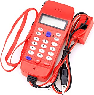 NF-866 Phone Cable Tester Tool for Telephone Telecommunication,Check Phone DTMF Caller ID Auto Detection