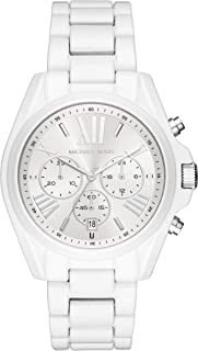 Michael Kors Women's Quartz Watch, chronograph Display and Stainless Steel Strap MK6585