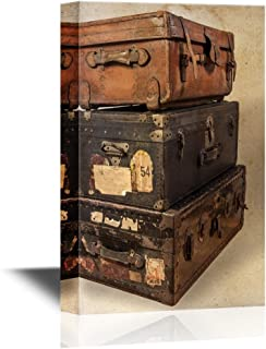 canvas steamer trunk