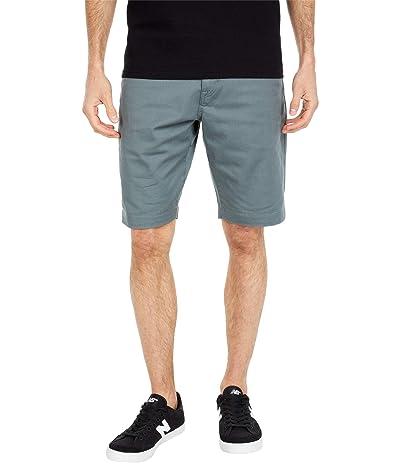 Volcom Frickin Modern Stretch Chino Shorts (Fir Green) Men