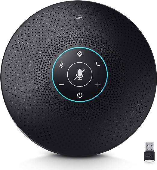 eMeet M2 Max Professional Bluetooth Speakerphone and Directional Mics