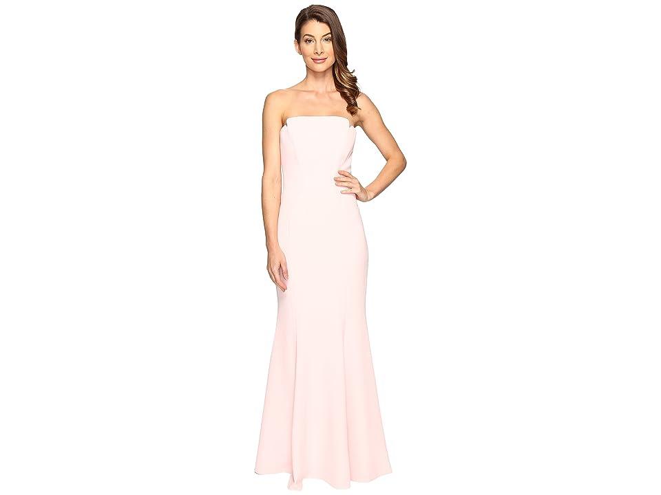 JILL JILL STUART Harlow Strapless Hourglass Gown (Ballet Pink) Women