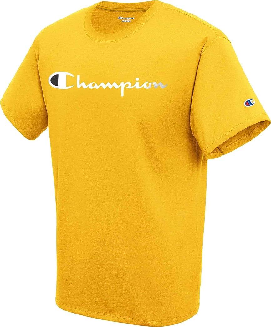 充実バーマド南方の[チャンピオン] メンズ シャツ Champion Men's Script Jersey Graphic Tee [並行輸入品]