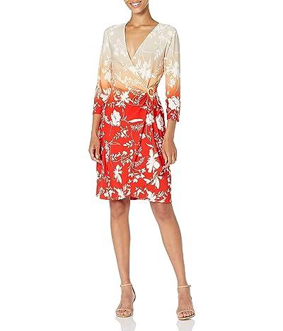 Calvin Klein Faux Wrap Dress