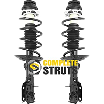 Pair Front Quick Complete Struts /& Coil Spring Assemblies Compatible with 2009-2014 Honda Fit
