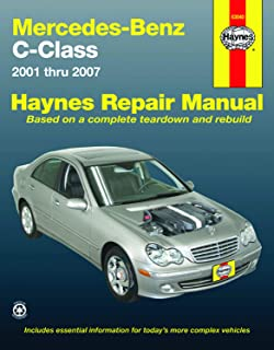 Mercedes-Benz C-Class 2001 thru 2007 (Automotive Repair Manual)
