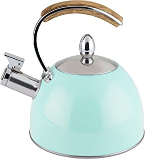 Pinky Up 5032 Kettle, Kitchen and Home Decor Tea Pot and Accessory, One Size, Turquoise