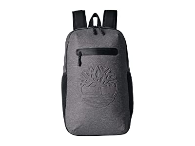 Timberland 27 L Jersey Zip Top Backpack (Dark Grey) Backpack Bags