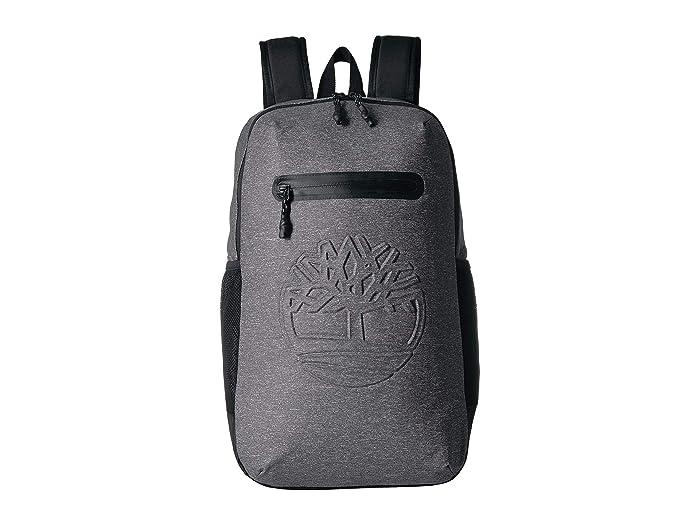 Timberland 27 L Jersey Zip Top Backpack (Dark Grey) Backpack Bags