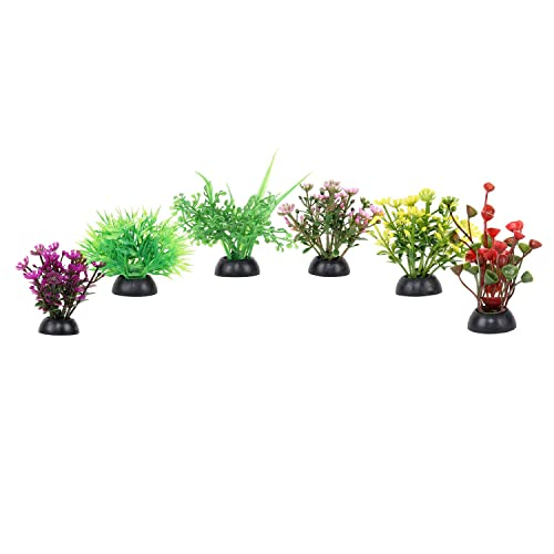 Aquarium Artificial/Beautiful 6 in 1, Baby Plant for Decoration - 5 cm Height