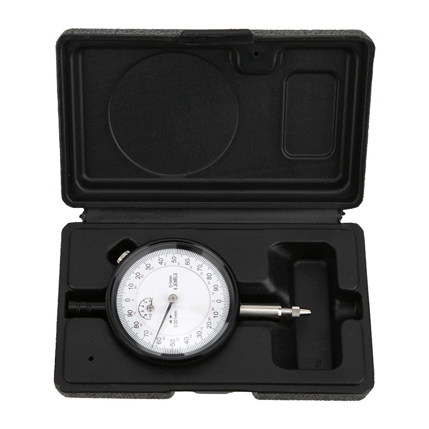 Dial Gauge - 8 Jewels 0-1mm 0.001mm Di Free shipping lowest price Shockproof Indicator