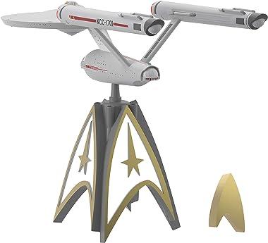 Hallmark Keepsake Star Trek U.S.S. Enterprise Storytellers Musical Christmas Tree Topper With Light, Star Trek Tree Topper