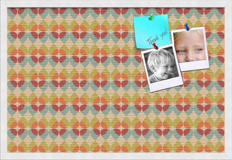 PinPix ArtToFrames 30x20 Inch Custom Cork Bulletin Board. This A