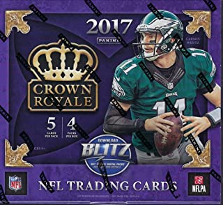 2017 Panini Crown Royale NFL Football box (4 pk)