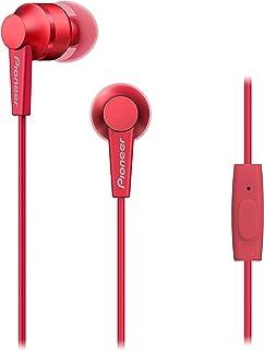 Pioneer SE-C3T Dentro de oído Biauricular Alámbrico Rojo auricular para móvil - Auriculares (Alámbrico, Dentro de oído, Bi...