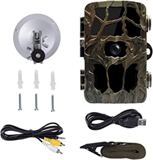 LuDa Hunting Camera 16MP Scouting Night Vision Wireless Game Trail Cam IP66 Farm Watching Infrared 120° Monitor