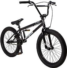 Mongoose Ritual Kids/Youth BMX Bike, 20-Inch Wheels, Caliper Brakes, Black
