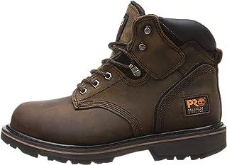 Timberland PRO - - Chaussure pour Homme à Bout Doux Pit Boss de 6 po, 43 EU, Dark Brown