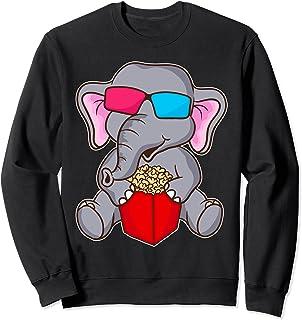 l'éléphant Film Mignon Drôle Sweatshirt