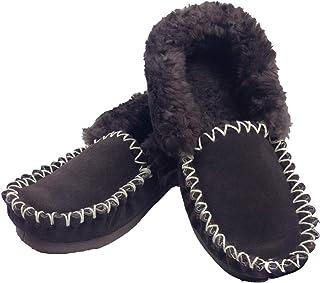 Boutique Retailer 100% Sheepskin Moccasins Slippers Winter Casual Genuine Slip On UGG Non-Slip