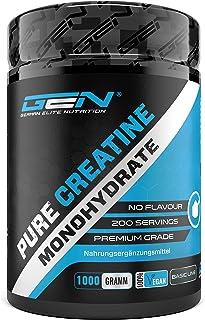Creatine Poeder - 1kg / 1000 g - Zuiver Creatine Monohydraat - Optimale Oplosbaarheid - Veganistisch - Geen Additieven - Z...