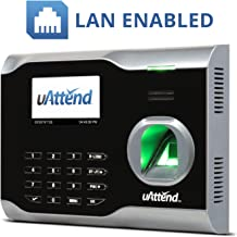 uAttend BN6000 Biometric Fingerprint Time Clock
