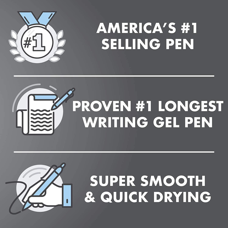1 Pack of 4 PILOT G2 Premium Refillable /& Retractable Rolling Ball Gel Pens
