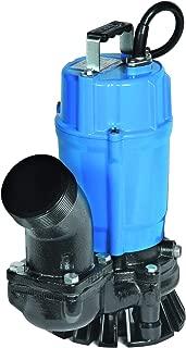 Tsurumi HS3.75S; semi-Vortex Submersible Trash Pump w/Agitator, 1hp, 115V, 3