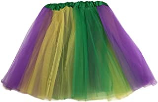 Multi Color Women's PLUS SIZE Costume Ballet Warrior Dash Run Tutu