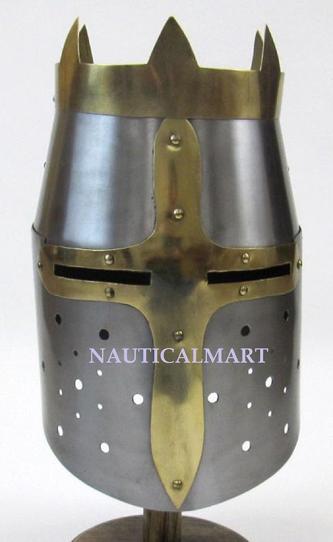 NauticalMart Crusader HelmetMedieval Knight CrusaderSteel Armor