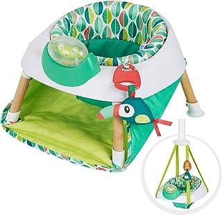 Evenflo Exersaucer Tiny Tropics - Suéter para puerta y asiento de bebé 2 en 1