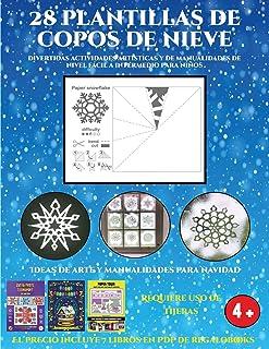 Ideas de arte y manualidades para Navidad (Divertidas actividades artísticas y de manualidades de nivel