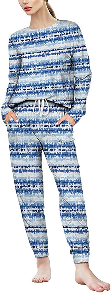Conjunto de Pijamas para Mujer, For mujer 2 piezas Loungewear ...