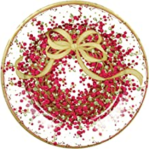 Entertaining with Caspari Pepper Berry Salad Plates, Red, 8-Pack
