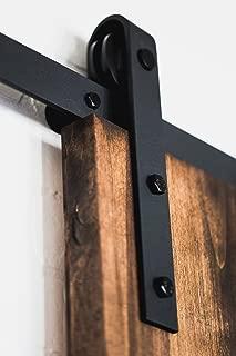 sliding barnwood door hardware