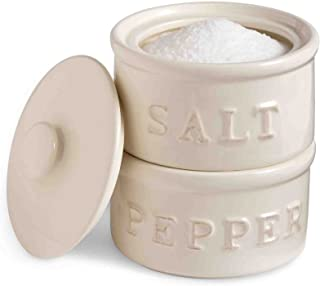 pinch pots salt and pepper